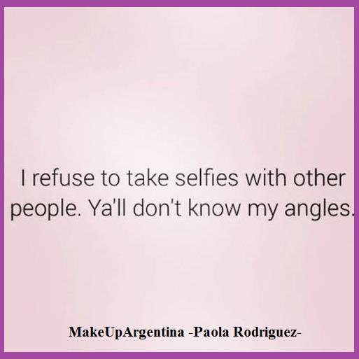 18-9 Me rehúso a sacarme selfies con otra gente, ustedes no conocen mis ángulos