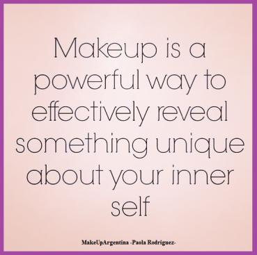 3-4 El maquillaje es un modo poderoso de develar algo único en tu ser interior