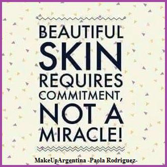 La buena piel requiere compromiso, no milagros